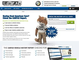 carfax.eu screenshot