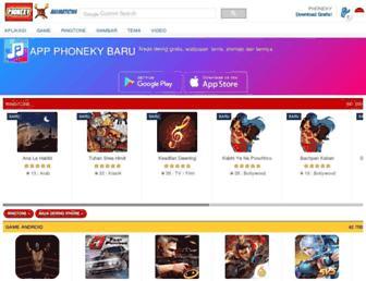 id.phoneky.com screenshot