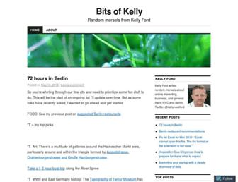 kellynford.com screenshot