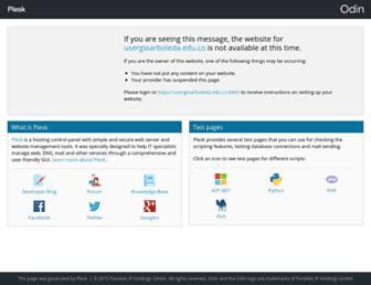 usergioarboleda.edu.co screenshot