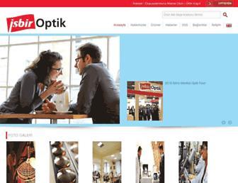isbiroptik.com screenshot