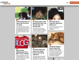 Thumbshot of Crowdignite.com