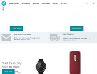 Thumbshot of Motorola.co.uk