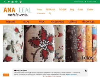 manualidadesentela.com screenshot