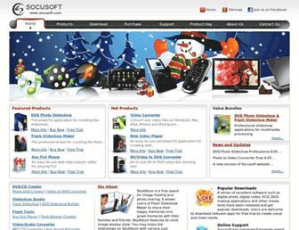 socusoft.com screenshot