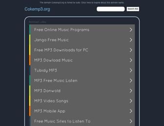 cokemp3.org screenshot