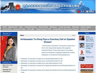 np.china-embassy.org screenshot