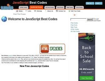 javascriptbestcodes.com screenshot