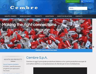 cembre.it screenshot