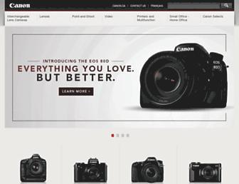 canonfeatures.ca screenshot