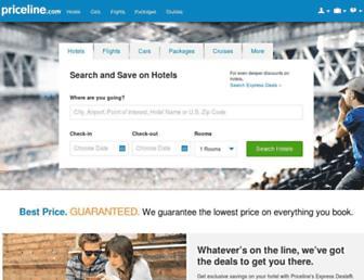 Screenshot for priceline.com