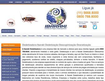 ibaraki.com.br screenshot