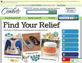 Thumbshot of Easycomforts.com