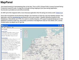 mappanel.sourceforge.net screenshot