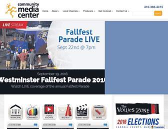 carrollmediacenter.org screenshot