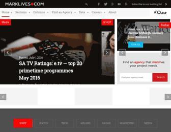 marklives.com screenshot