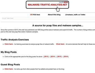 Thumbshot of Malware-traffic-analysis.net