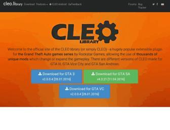 cleo.li screenshot