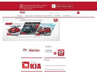 kia.com.ec screenshot