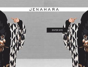 jenahara.com screenshot