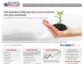 usdatacorporation.com screenshot