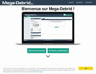mega-debrid.eu screenshot