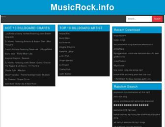musicrock.info screenshot