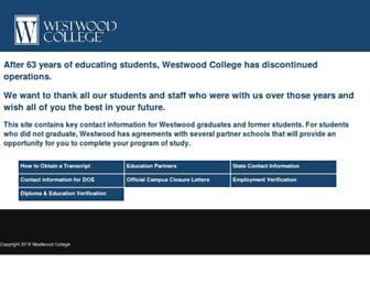 Thumbshot of Westwood.edu