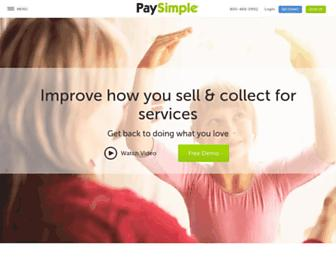 Thumbshot of Paysimple.com