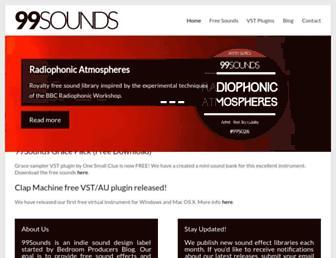 99sounds.org screenshot