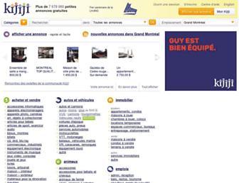montreal.kijiji.ca screenshot