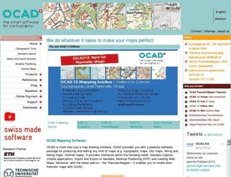 ocad.com screenshot