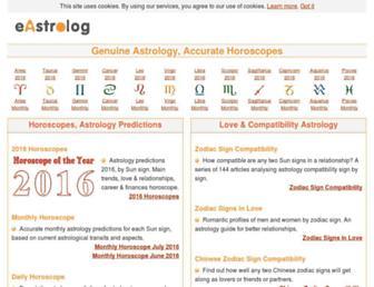 eastrolog.com screenshot