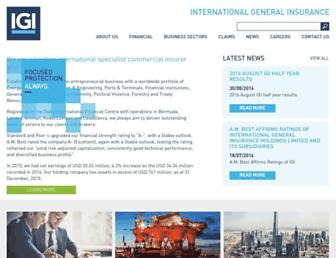 iginsure.com screenshot
