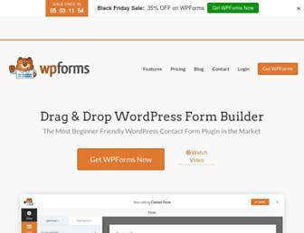 wpforms.com screenshot