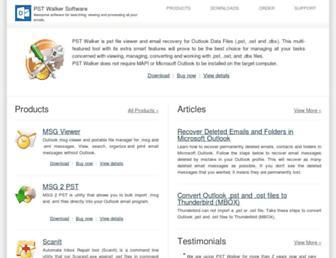 pstwalker.com screenshot