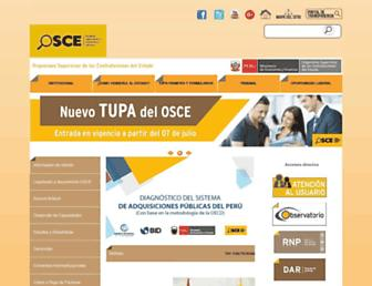portal.osce.gob.pe screenshot