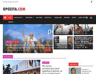 Thumbshot of Opozita.com
