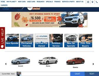 planethyundai.com screenshot
