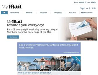 Thumbshot of Mymail.co.uk