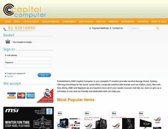 capitolcomputer.com.au screenshot