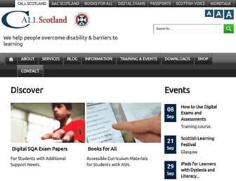 callscotland.org.uk screenshot