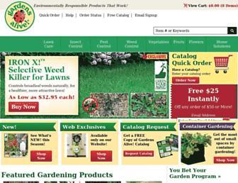 Thumbshot of Gardensalive.com