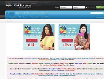 apnapaktv.com screenshot