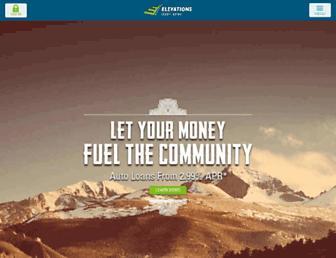Thumbshot of Elevationscu.com
