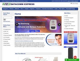 datacommexpress.com screenshot