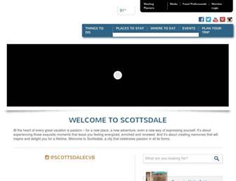 Thumbshot of Scottsdalecvb.com