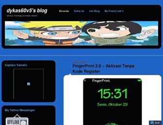 dykas60v5.wordpress.com screenshot