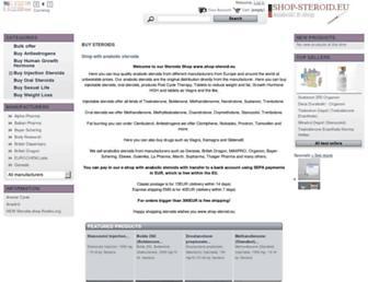 shop-steroid.org screenshot