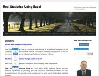 real-statistics.com screenshot